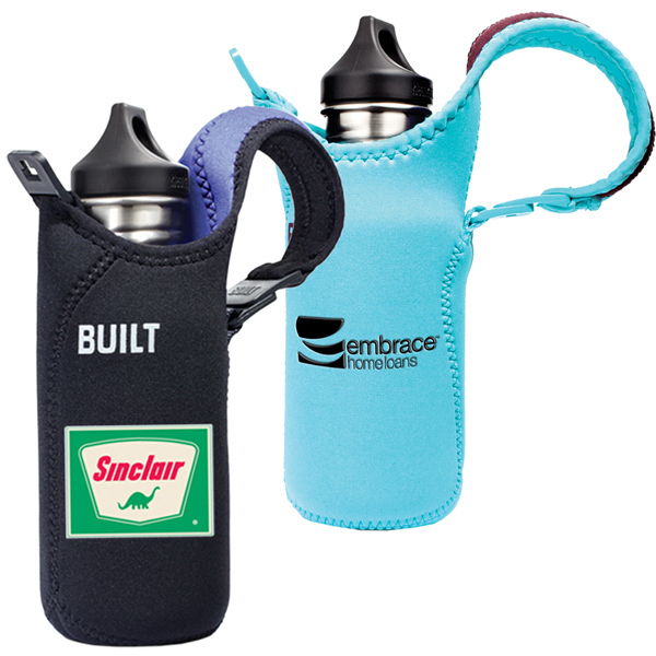 Printed Clearance Built (R) Water Bottle Tote 12-18 Ounce