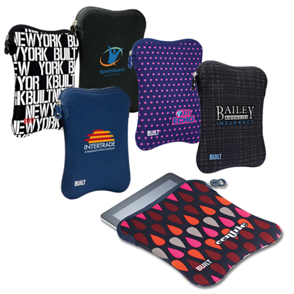 Customized Built (R) Neoprene Sleeve for iPAD and iPad2