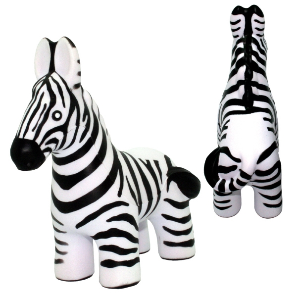Printed Squeezies (R) Zebra Stress Reliever