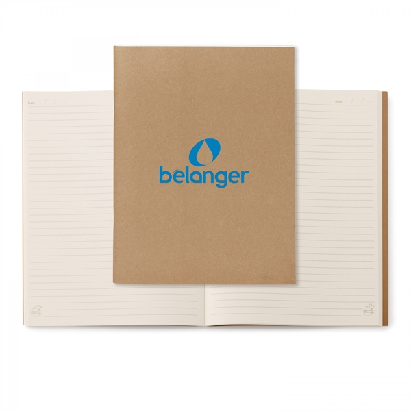 Personalized Large Eco Notebook