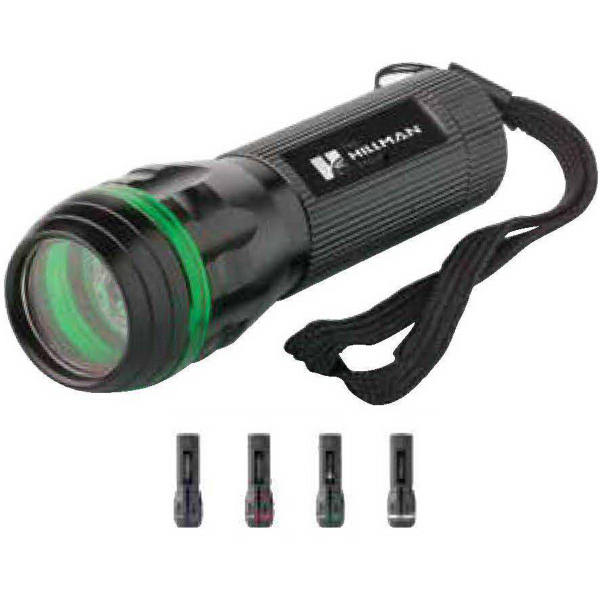 Imprinted Line light aluminum flashlight