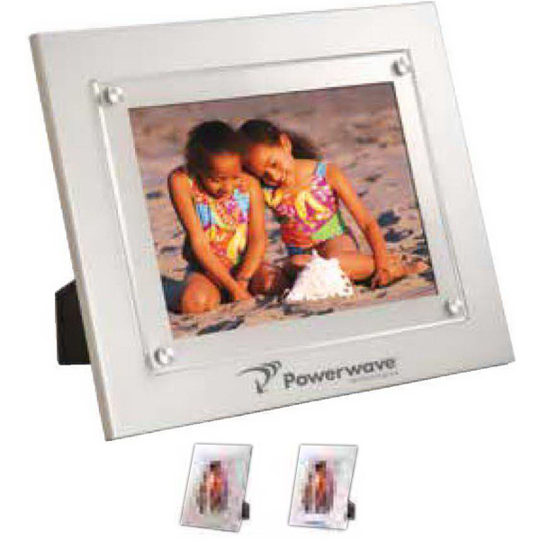 "Imprinted 5"" x 7"" window picture frame"