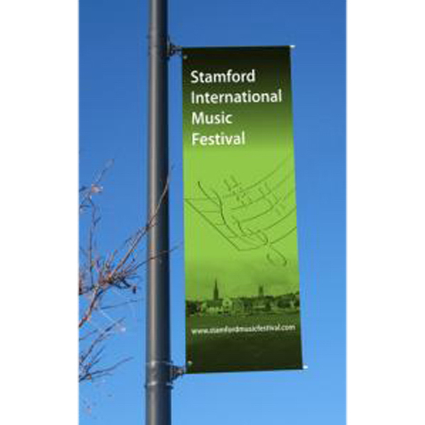 Personalized Street pole banners