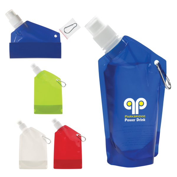 Customized 12 oz. Collapsible Bottle