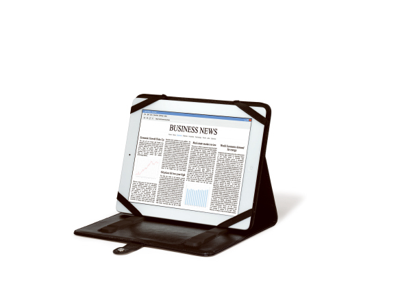 Personalized Leather Tablet Stand