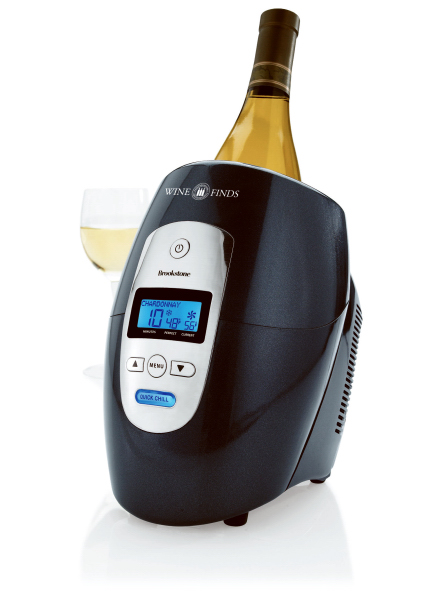 Printed Brookstone (R) Iceless Wine Chiller