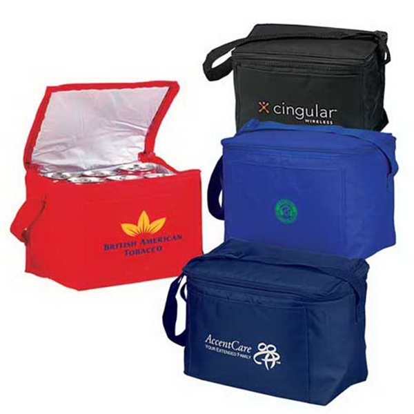 Imprinted Standard 6-Pack Cooler