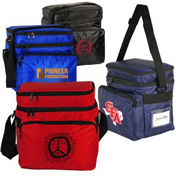 Custom Dual Compartment 10-Pack Cooler