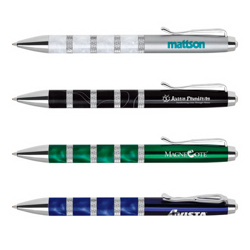 Imprinted Deluxe Ballpoint Pen, Twist Action