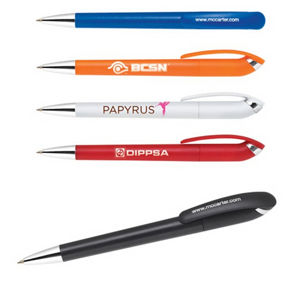 Imprinted Eco-Friendly Recycle Pen, Twist Action