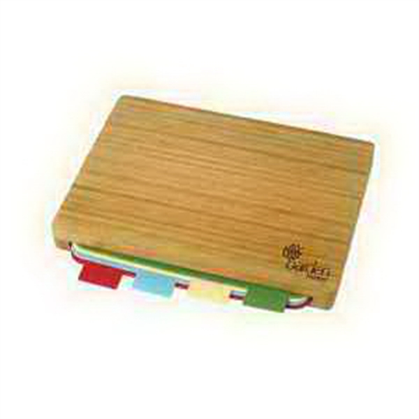 Promotional 5 Piece Bamboo Cutting Board Set