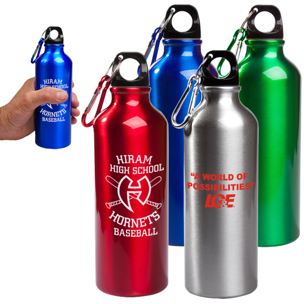 Personalized 17 oz Aluminum Petite Bottle