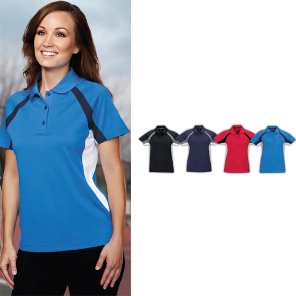 Printed Lady Thunder - Women's Moisture Wicking Polo