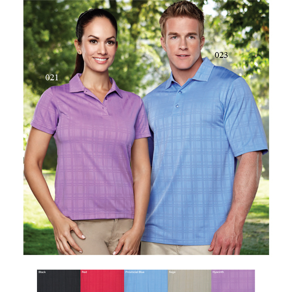 Printed Montecito - Men's moisture wicking polo