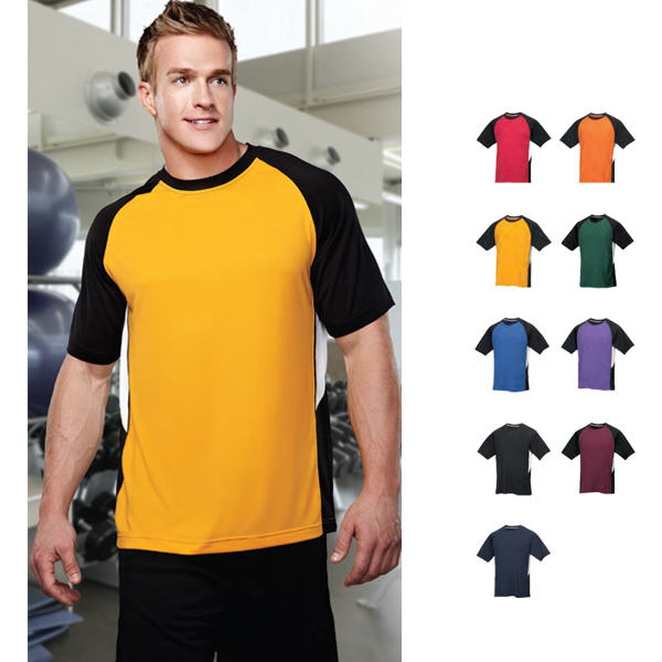 Custom Tiger - Men's Moisture Wicking Crewneck Shirt