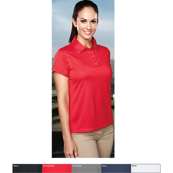 Promotional Lady Spades - Women's moisture wicking polo