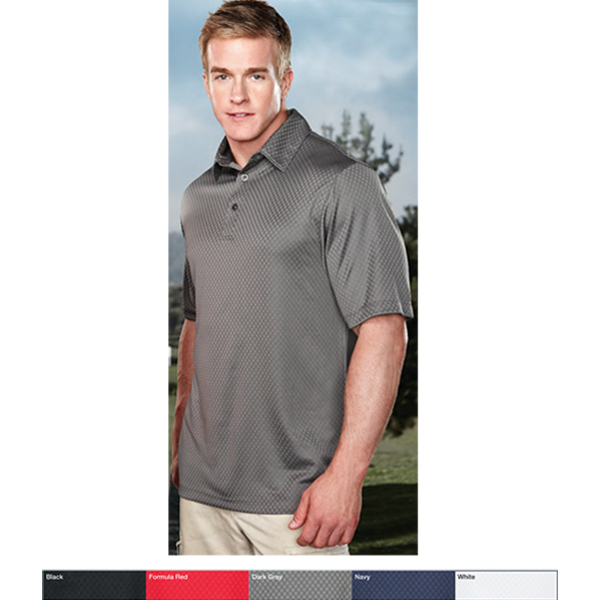 Printed Spades - Men's Moisture Wicking Polo