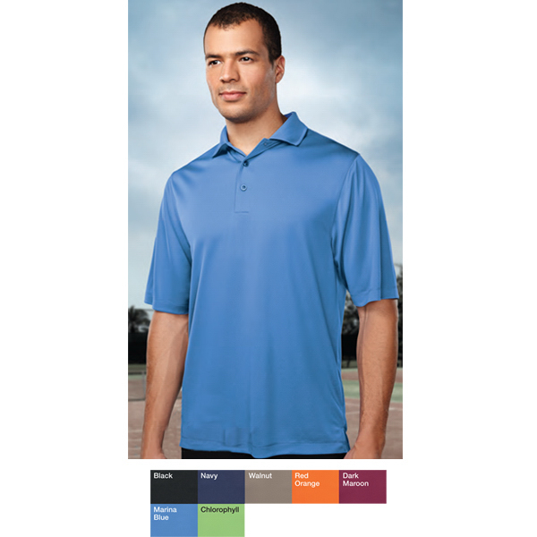 Imprinted Palermo - Men's Moisture Wicking Polo
