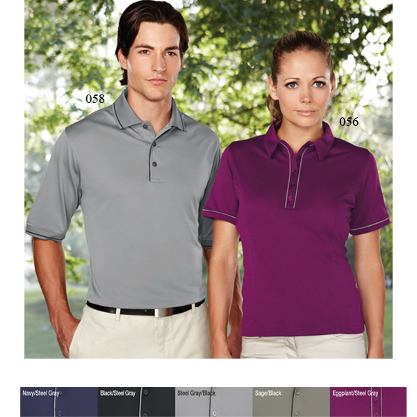 Custom Spinnaker - Men's Moisture Wicking Polo