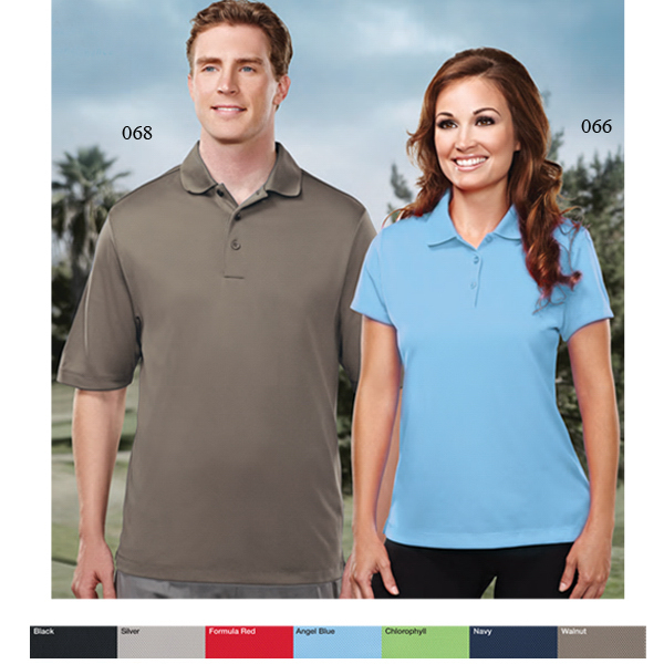 Imprinted Dawson - Men's moisture wicking polo