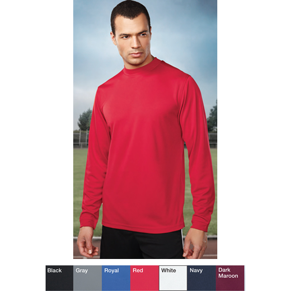 Custom Heron - Men's Moisture Wicking Turtleneck