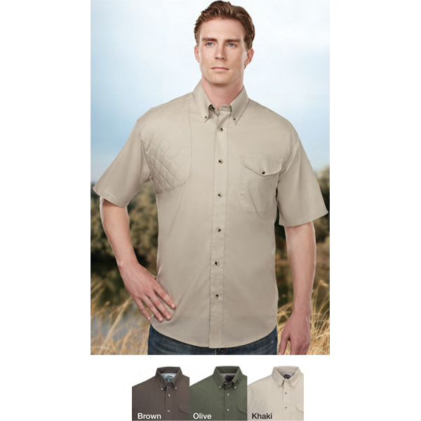 Imprinted Freebore -  Short Sleeved Shooting Shirt