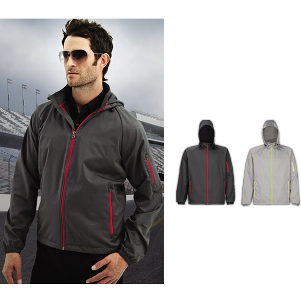 Imprinted CF-1 Lightweight Hooded Jacket