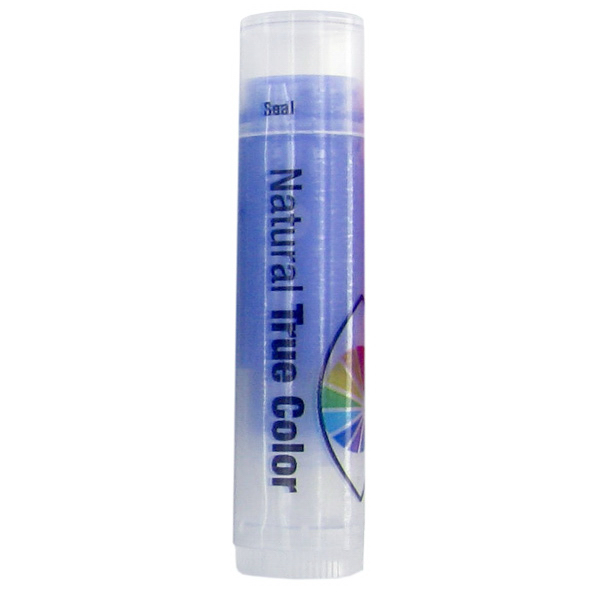 Customized SPF 15 Grape Lip Balm in Clear Tube with Purple Tint