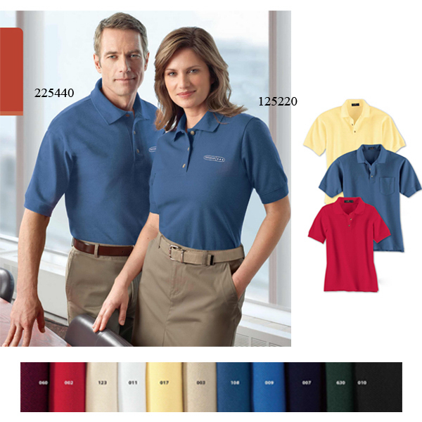 Personalized Men's Cotton Pique Polo