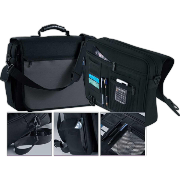 Printed North End (R) Executive Laptop Briefcase