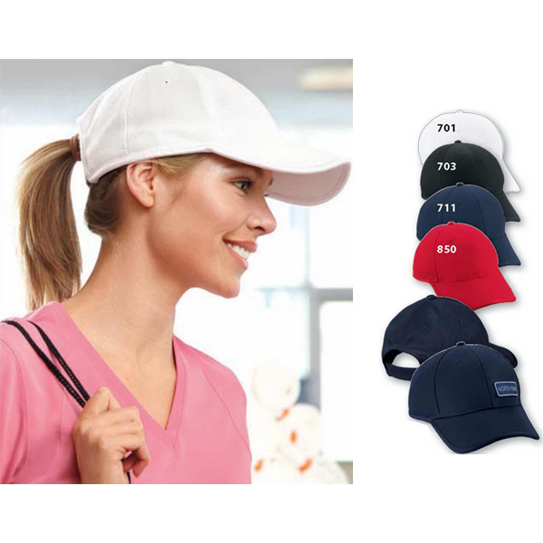 Personalized North End (R) Performance Pique Rolled Edge Cap