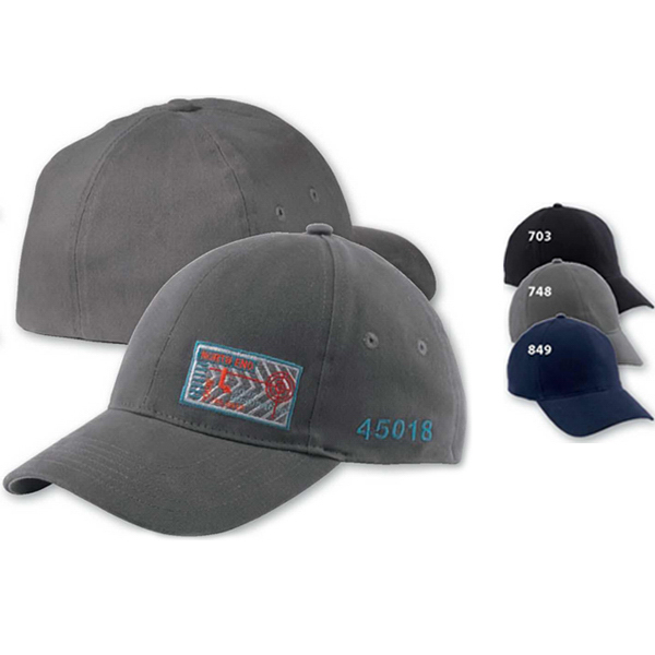 Customized North End (R) 2-Way Stretch Brushed Twill Cap