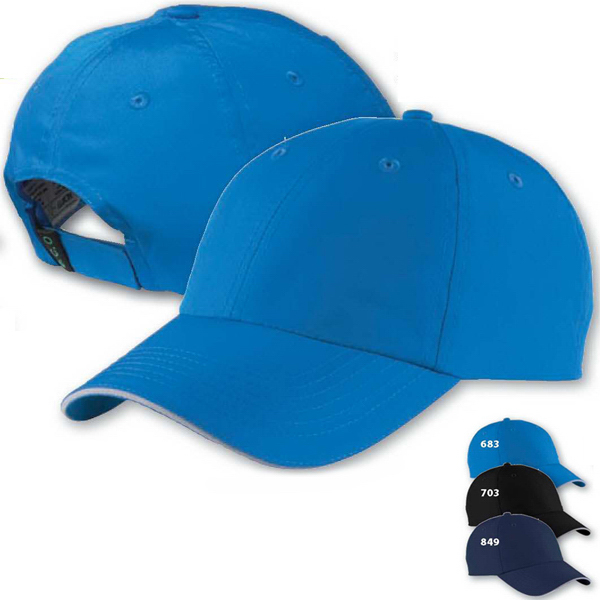 Imprinted North End (R) Lightweight Recycled Polyester Cap
