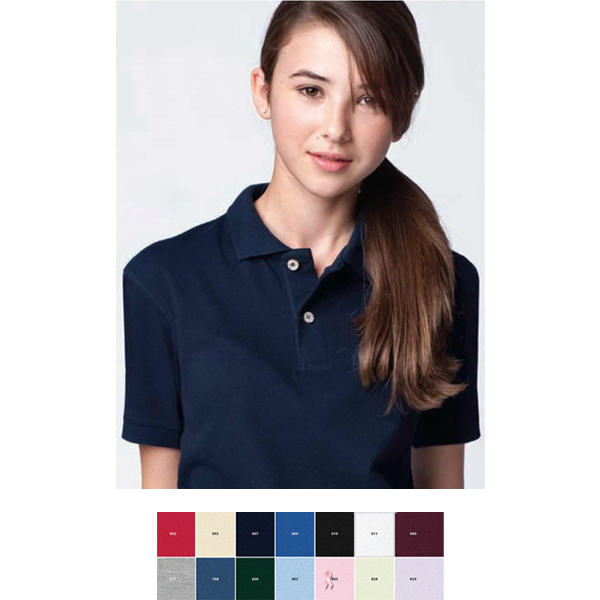 Custom Youth Extreme Cotton Blend Pique Polo