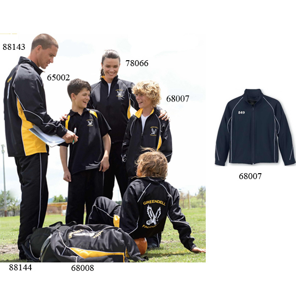 Customized Youth North End (R) Woven Twill Athletic Jacket