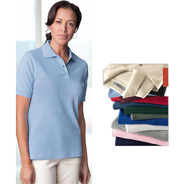 Customized Ladies' Extreme Cotton Pique Polo
