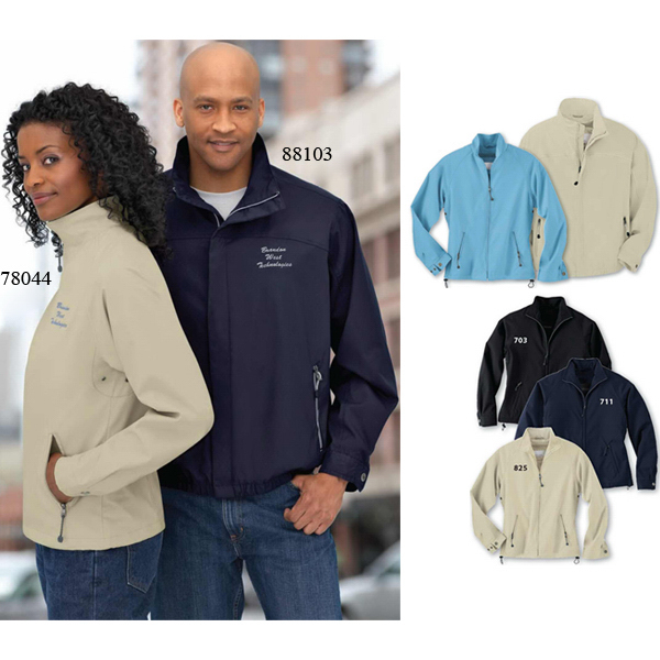 Personalized Ladies' North End (R) Micro Twill Mid-Length Jacket