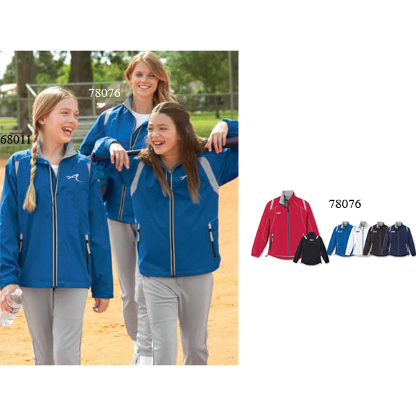 Customized Ladies' North End (R) Lightweight Color-Block Jacket