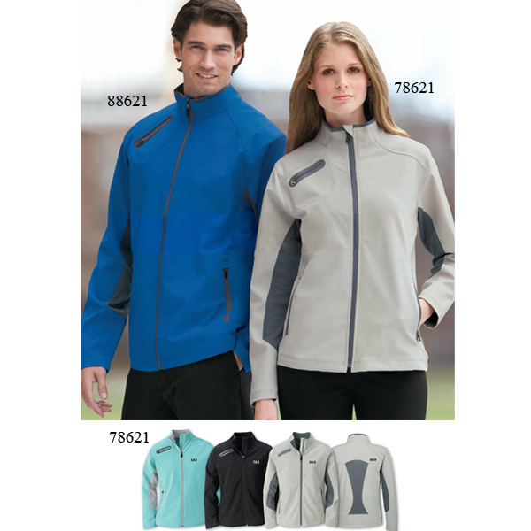 Custom Ladies' North End Sport (R) 3-Layer Soft Shell Jacket