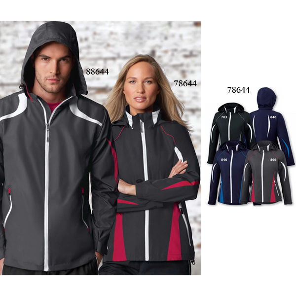 Custom Ladies' North End Sport (R) Active Lite Color-Block Jacket