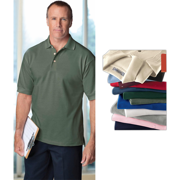 Imprinted Men's Extreme Cotton Pique Polo