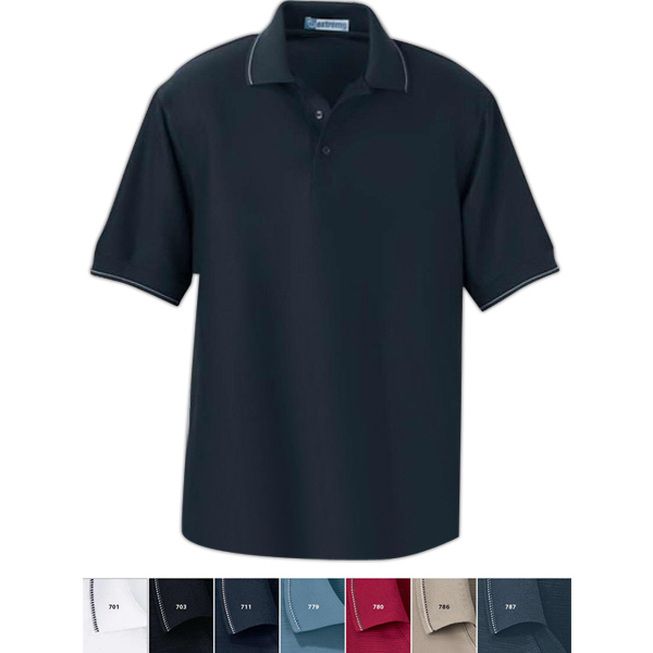 Custom Men's Extreme Edry (R) Cotton Blend Mini Ottoman Polo
