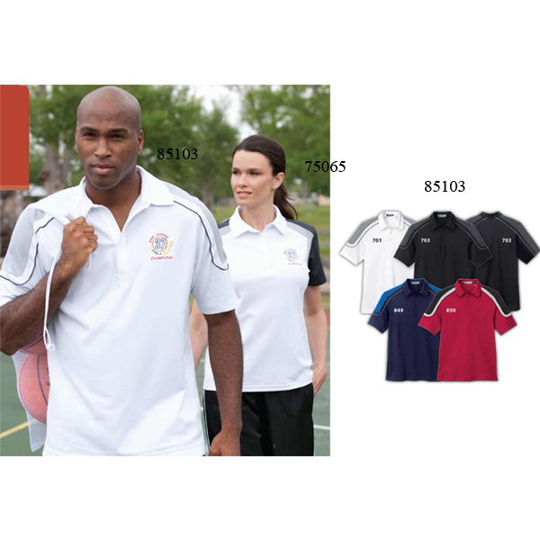 Customized Men's Extreme Edry (R) Color-Block Polo