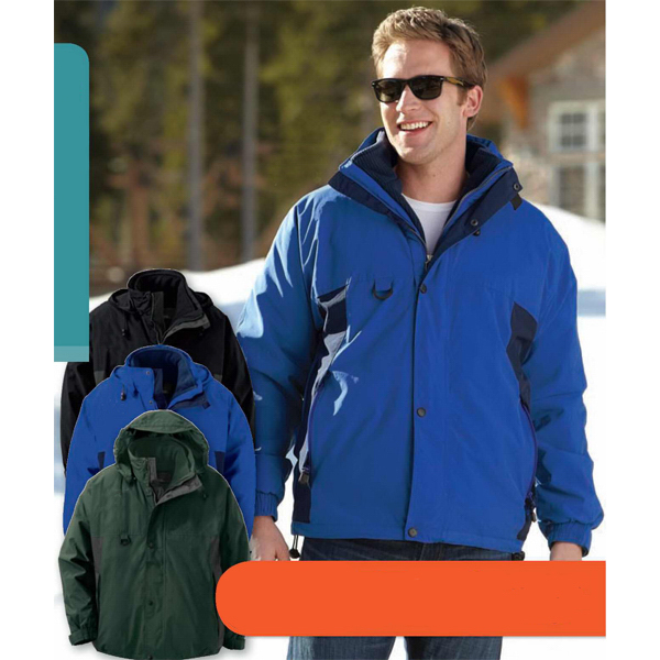 Imprinted Men's North End (R) 3-in-1 Jacket