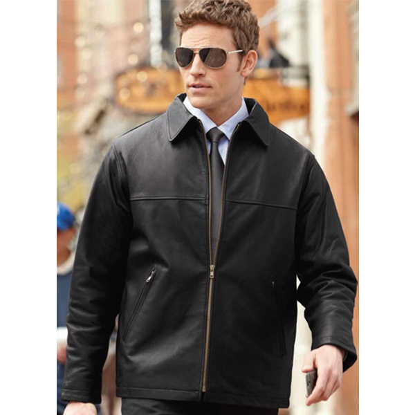 Classic Leather Jackets For Men - Coat Nj