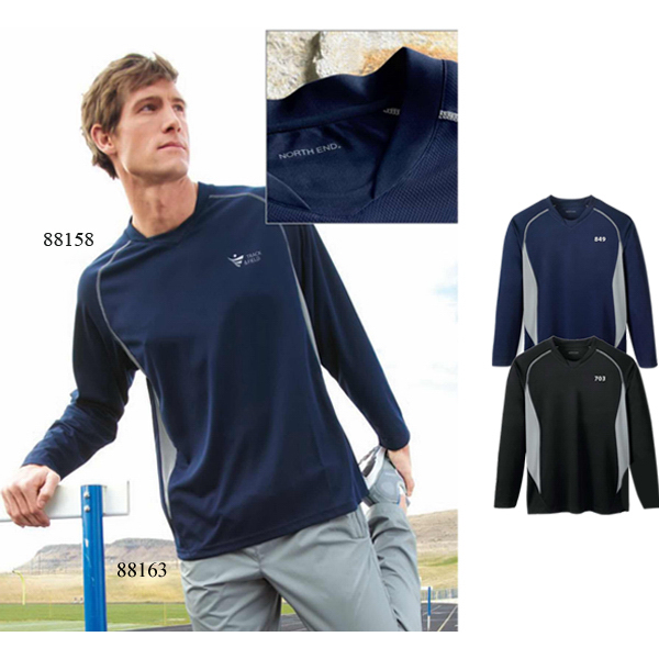 Promotional Men's North End (R) Athletic Long Sleeve Sport Top