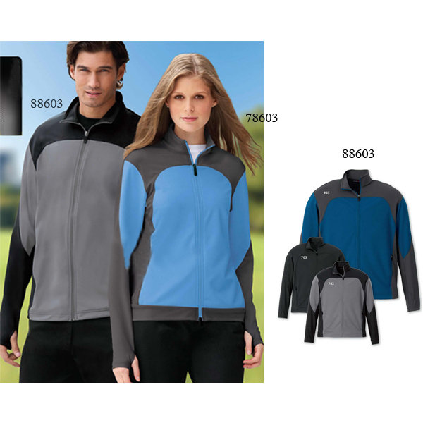 Customized Men's North End Sport (R) Active Performance Stretch Jacket