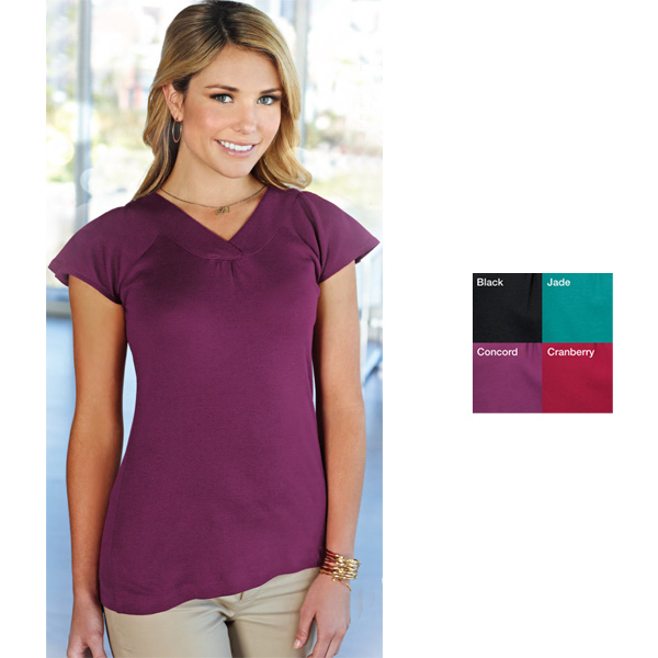 Promotional Hailey - Women's Short Sleeve Shirt