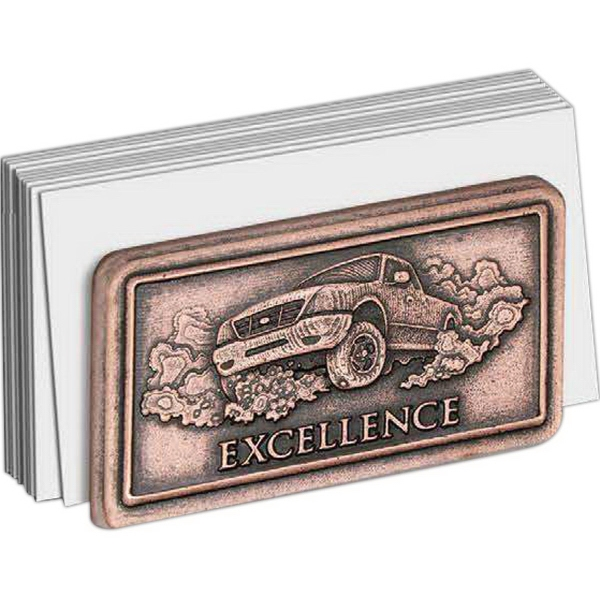 Imprinted Econo size business card holder