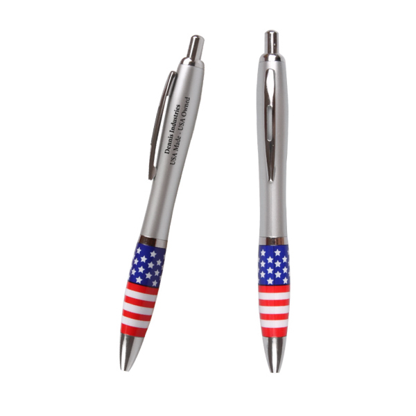 Custom Emissary Click Pen - USA Theme